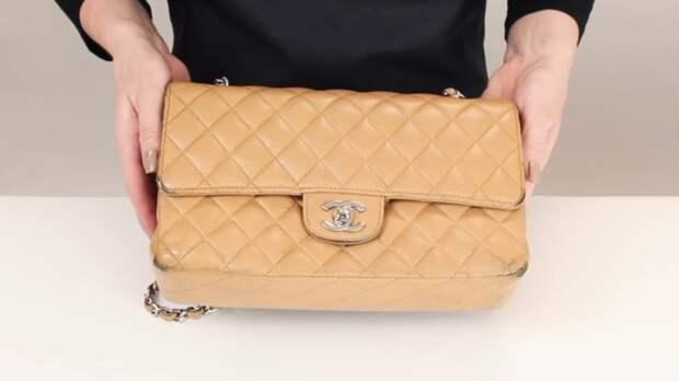 Реставрация дорогой винтажной сумочки