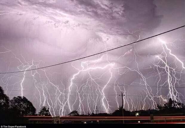 Неверятный шторм в Брисбане