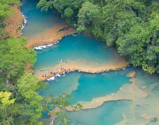 Самые красивые каскадные водопады  водопад, природа, факты