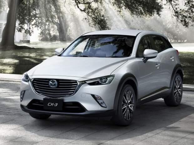 Mazda представила полноприводный компакт-кроссовер CX-3
