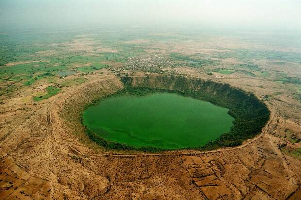 10. Лонар, Аурангабад, Индия в мире, озеро, природа