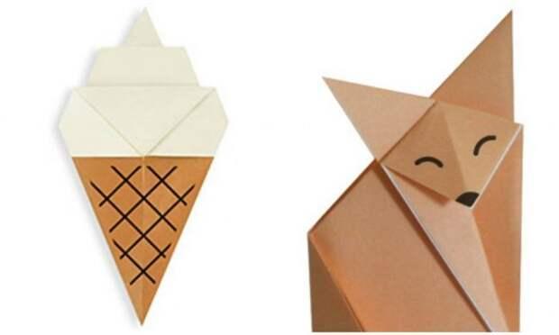 20 простых оригами, которые можно сделать с детьми