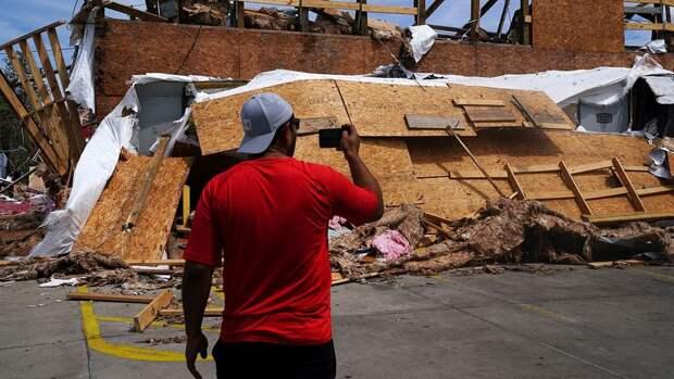 Трамп ввел режим ЧС в Луизиане из-за урагана «Лаура»