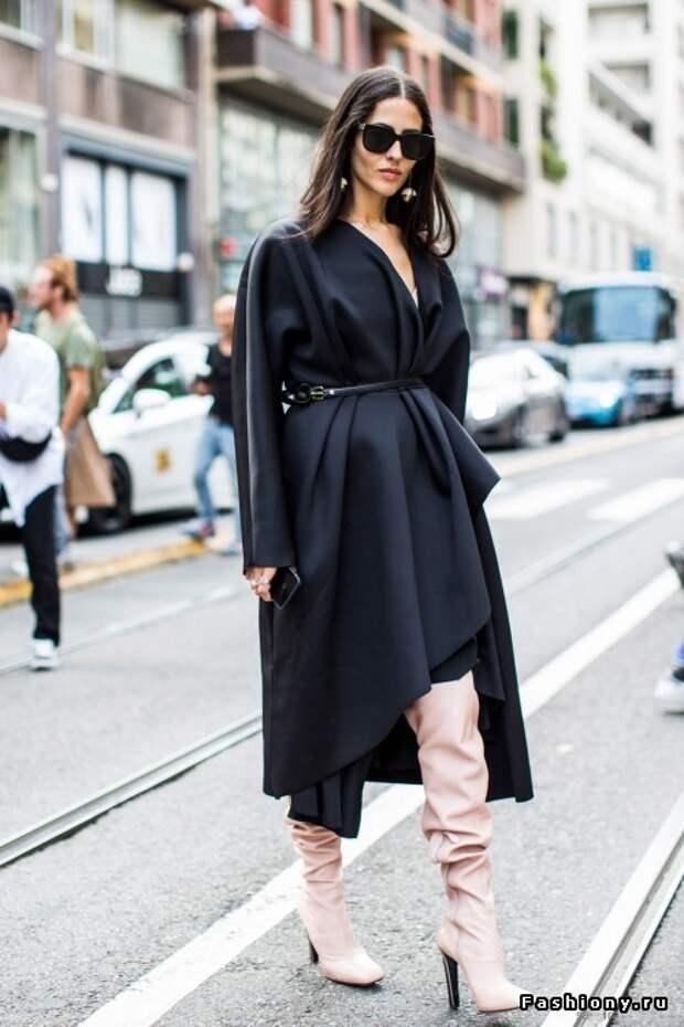 Осень 2015: модные образы с улиц Италии