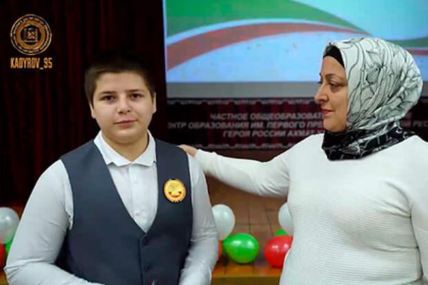 Сын Кадырова выиграл свои первые выборы в 13 лет