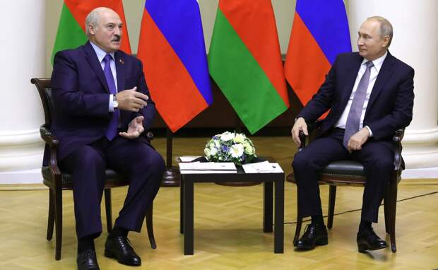 Путин пообещал предоставить Белоруссии кредит на $1,5 млрд