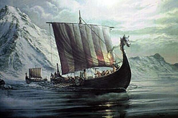 В X веке в Северную Америку прибыли корабли Лейфа Эриксона