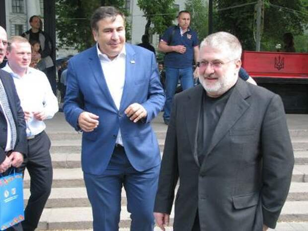 Суд Киева удовлетворил иск Коломойского к Саакашвили