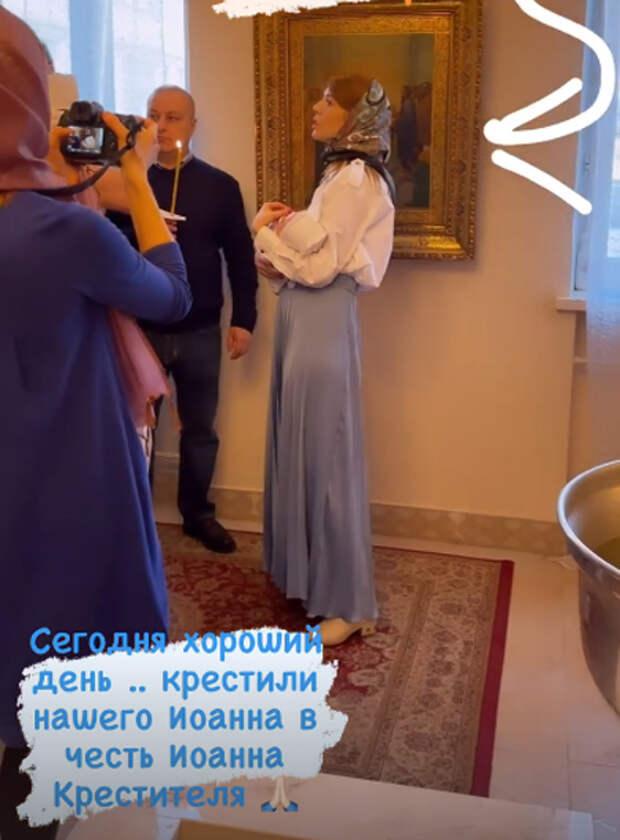 Владимир Пресняков и Наталья Подольская крестили младшего сына