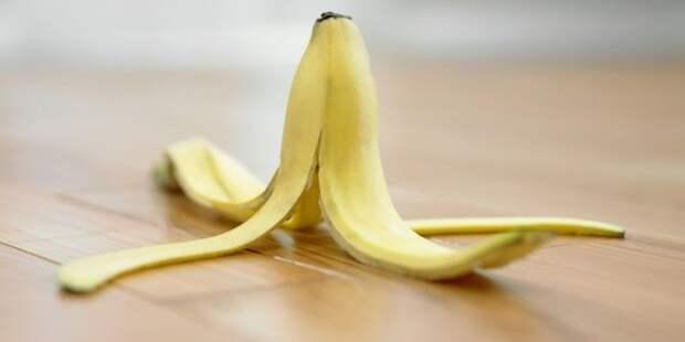 6. Кожура от бананов идея, продукты, хитрости