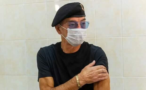 Привитый Боярский: вакцинируйтесь, мне так хорошо, что я в больнице