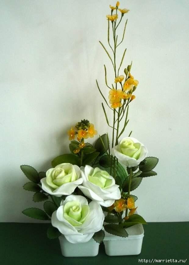 Розы из капрона. Красивые идеи и мастер-класс (58) (471x660, 164Kb)
