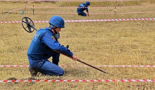 Саперы ДНР занеделю обезвредили полтысячи взрывоопасных предметов