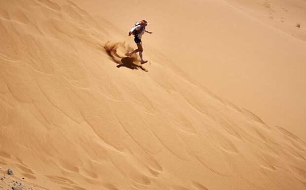 Марафон в пустыне Сахара