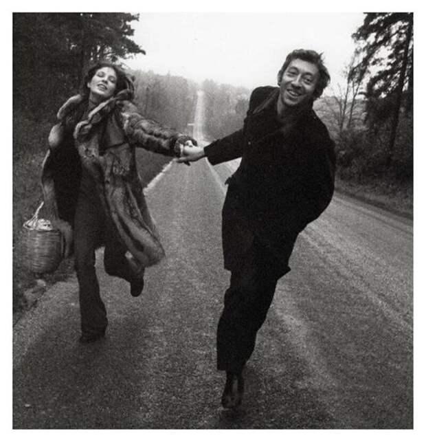 Барышня и хулиган - Джейн Биркин и Серж Генсбур. Знаменитый роман этой стильной, скандальной и богемной пары длился 13 лет.