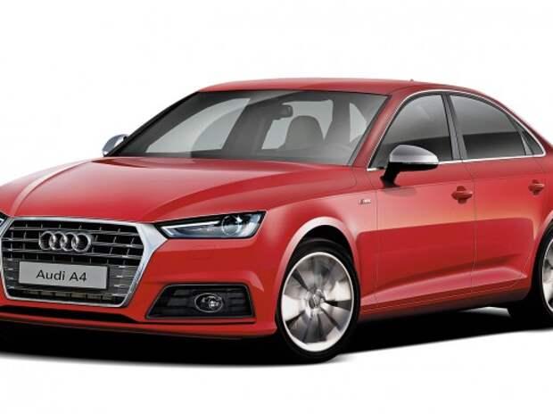 Новый Audi A4 рассекретят до его премьеры во Франкфурте