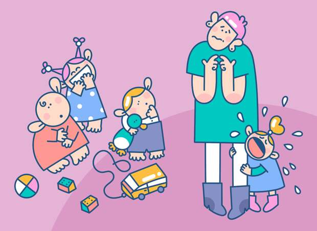 Великая и ужасная адаптация к детскому саду: как проходит, сколько длится, чем помочь? Отвечают психологи