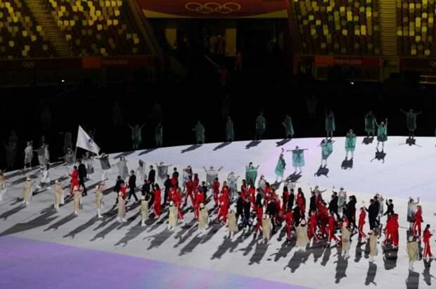 В Токио прошла церемония открытия Олимпиады