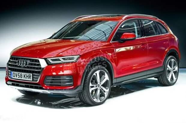 Британцы «раскололи» новый Audi Q5