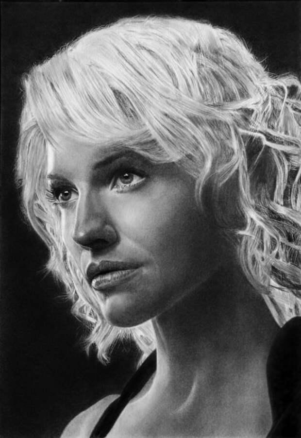 Реалистичные портреты карандашом (12 рисунков)