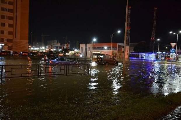 Администрация Тамбова спустя несколько потопов решила проверить ливнёвки на севере города