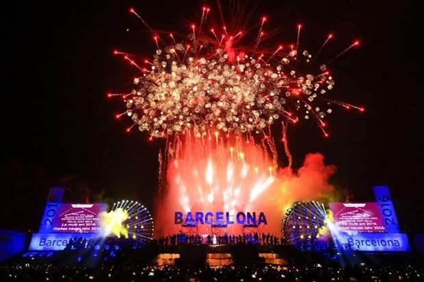 Как отметили приход Нового года в разных странах мира