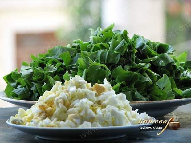 Щавель – главный ингредиент зеленого борща