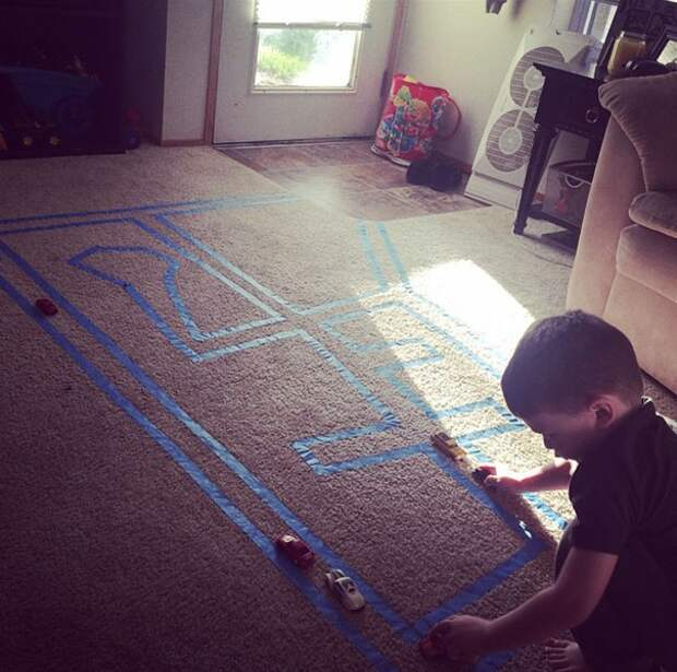 Дорога в детской