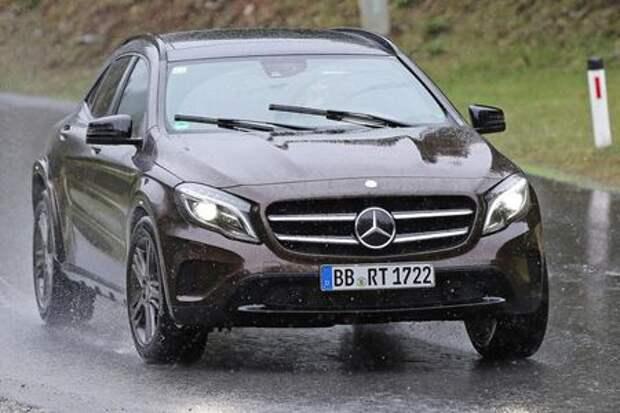 Mercedes-Benz расширит линейку кроссоверов
