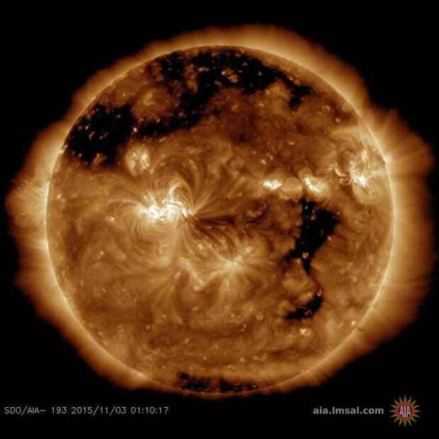 На Земле начинается задержавшаяся геомагнитная буря высокого класса
