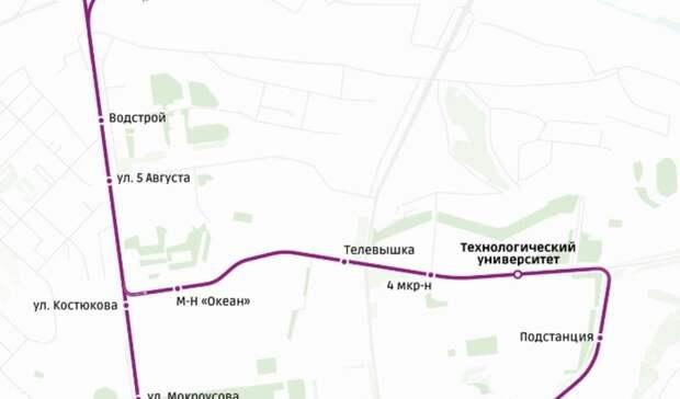 С16сентября троллейбус М8 будет ходить вБелгороде постарому маршруту