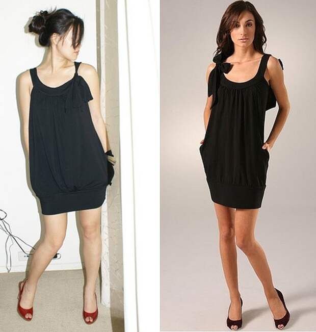 Выкройка очень простого платья