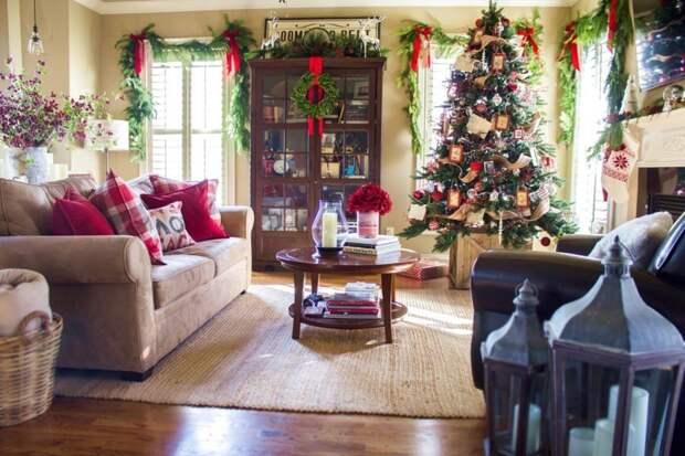 Новогодние украшения дома и праздничного стола. Часть 2