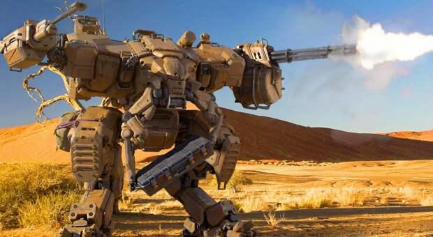 США пытаются решить проблему нехватки личного состава с помощью боевых роботов