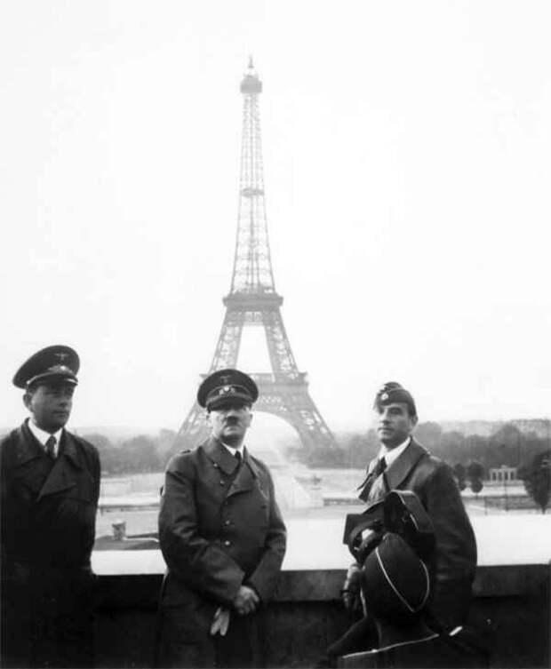 История того, как Франция, Великобритания, Нидерланды и Бельгия Париж сдали