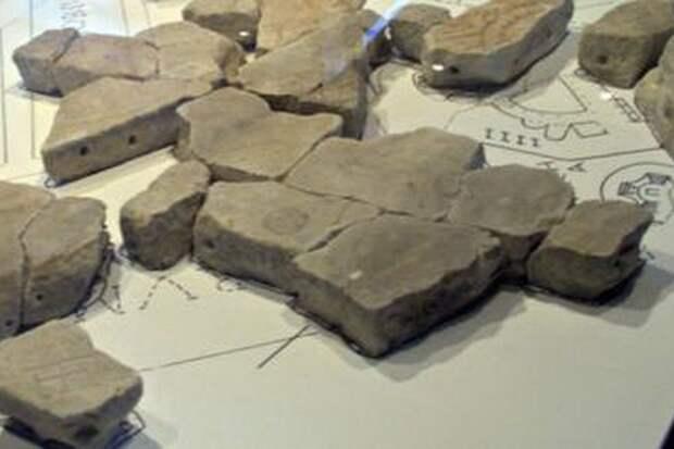 Найден новый фрагмент древней мраморной карты Рима
