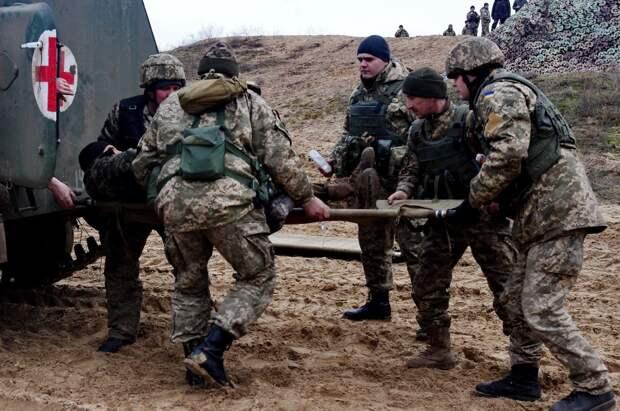 ФАН: бойцы ВСУ были расстреляны прямо во время учений