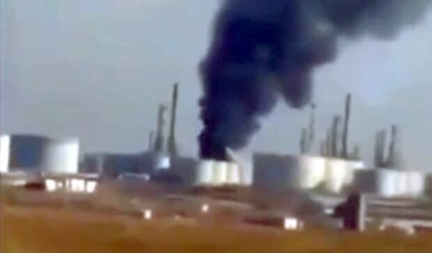 Три человека погибли при пожаре наНПЗ вИракском Курдистане