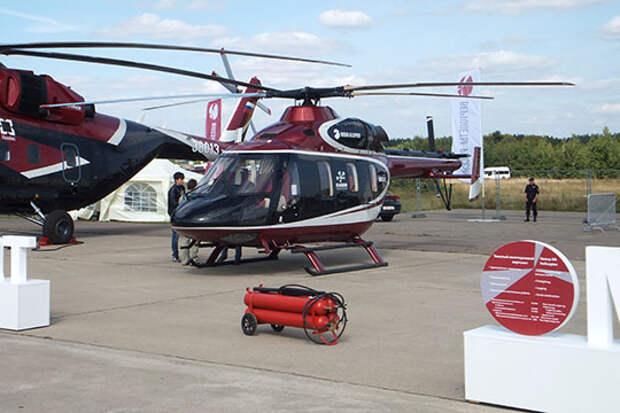 Казанский вертолетный завод готовит VIP-вертолет, который продолжит линейку лимузинов Aurus