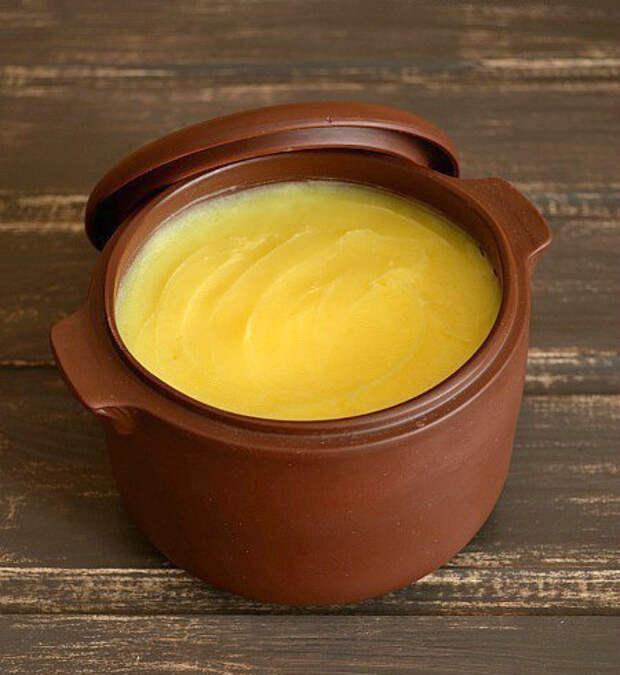 Топленое масло - полезный продукт. кухня, топлёное масло, факты
