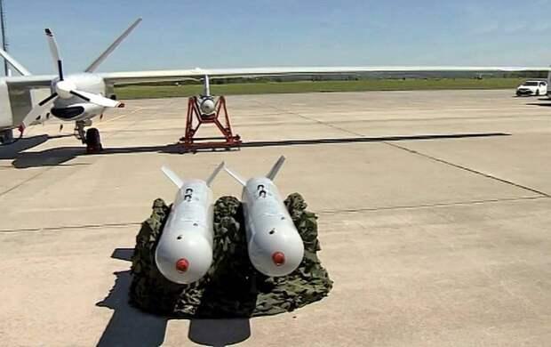 На «Альтаир» подвесили бомбы