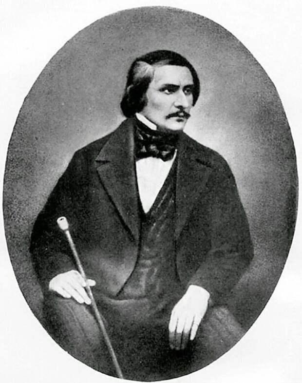 Единственное прижизненное фото Гоголя.