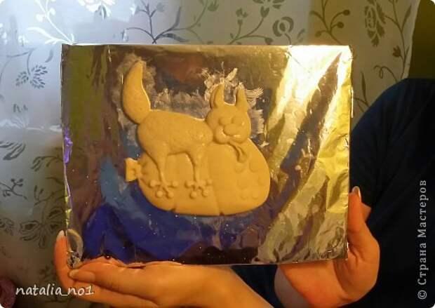 Мастер-класс Поделка изделие Лепка Кот на колбасе - Мастер класс Тесто соленое фото 38