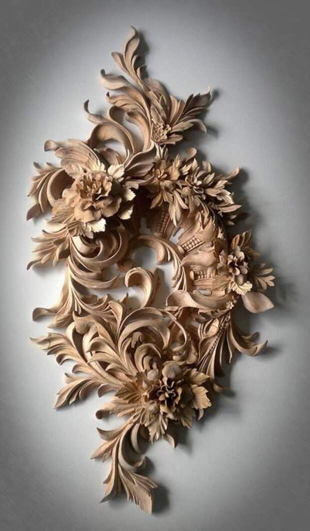 Потрясающие скульптуры из дерева
