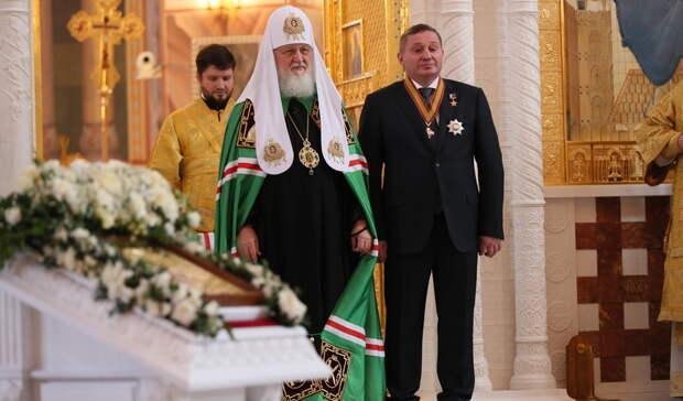 Андрей Бочаров встретился спатриархом Кириллом