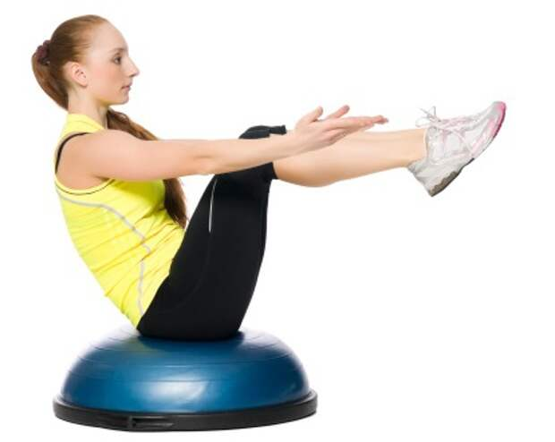 как накачать мышцы, мышцы-стабилизаторы, босу, фитбол, петли трх, медбол