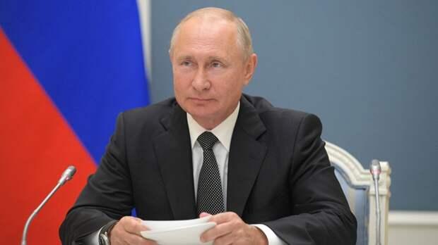 Путин заявил, что будет приветствовать желание Зеленского восстановить отношения