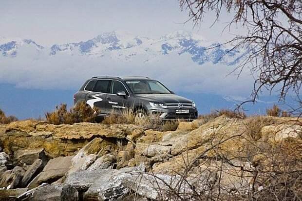 Открываем Иссык-Куль с Volkswagen Touareg