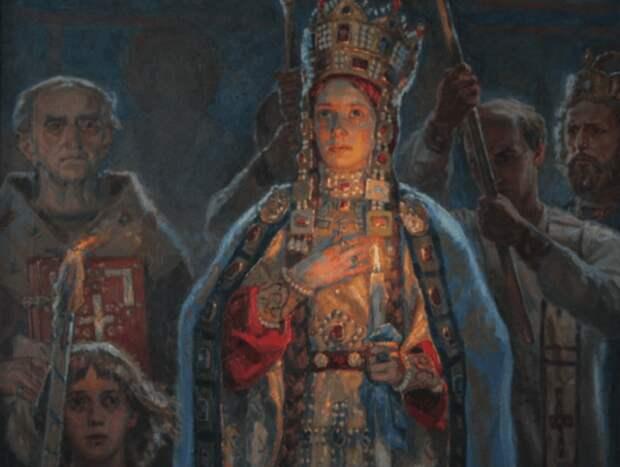 Княжна Евпраксия Всеволодовна — императрица Адельгейда