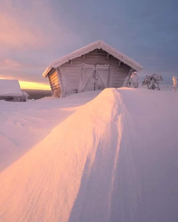 Сказки Севера: зимняя природа на снимках Андрея Базанова